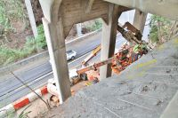 Puowaina Bridge Slope Stabilization